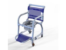 CARCI Cadeira Higiênica Multi Uso em PVC Carcilife Branco 310CL