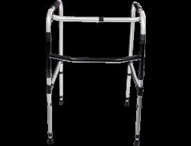 INDAIA Andador Articulado e Dobrável 2 Barras 100 kg