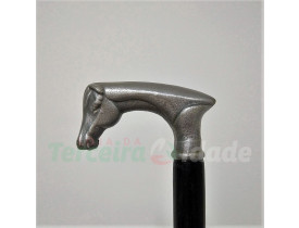 INDAIA Bengala Cabo Alumínio P84 (Cavalo)