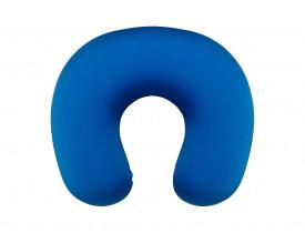 PERFETTO Neck Pillow Grande Azul Royal Visco Elástico Almofada para Pescoço