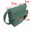 Bolsa-Porta-fralda-geratrica-verde-medidas